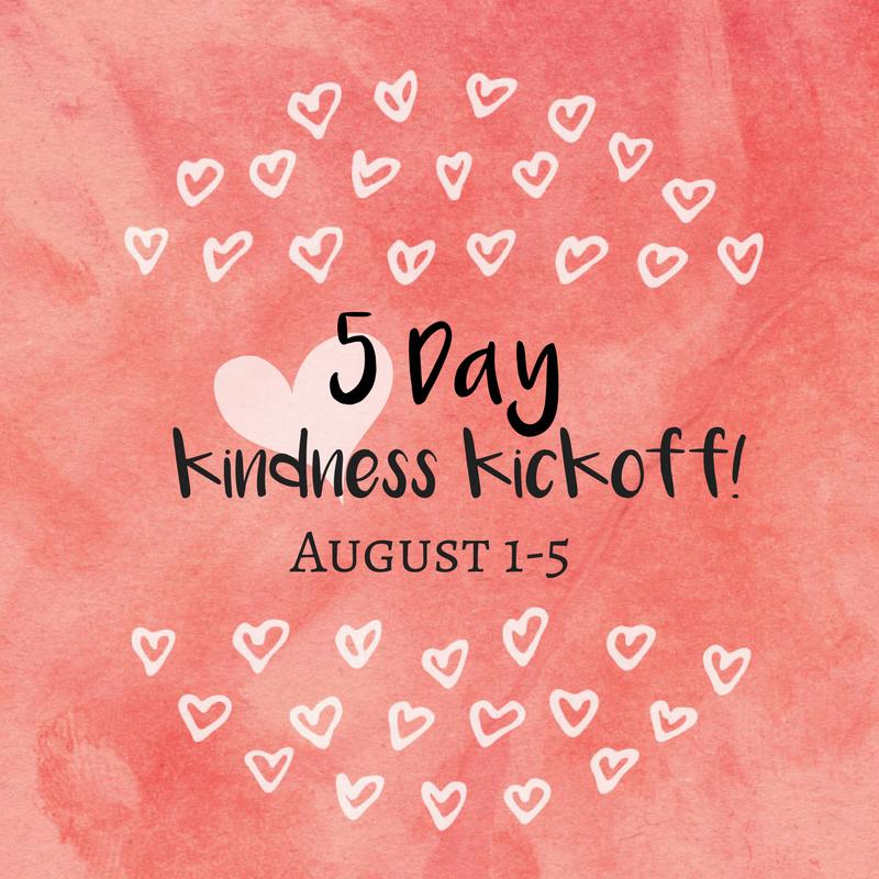 kindness kickoff